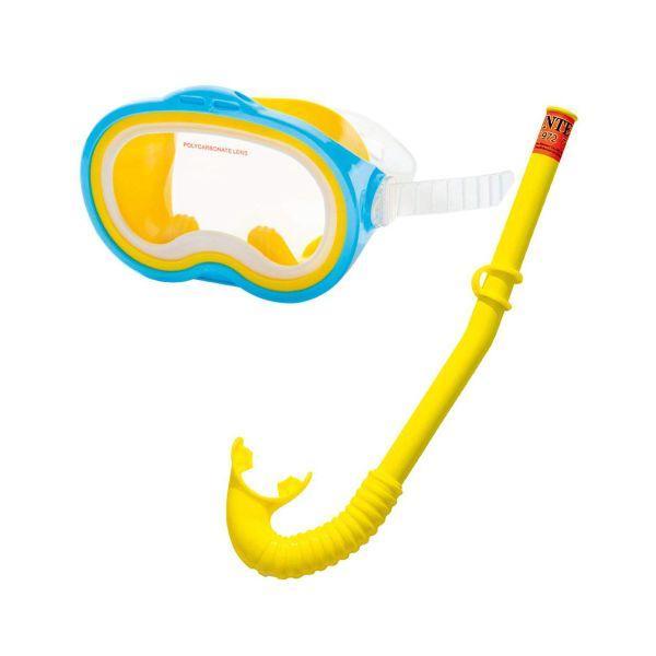 Детский комплект для плавания Adventurer Swim Intex 55942 от 8 лет маска и трубка