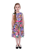 Платье детское летнее в цветочки