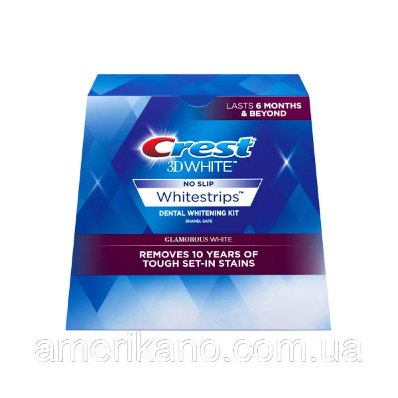 Полоски для отбеливания в домашних условиях Crest 3D White Whitestrips Kit - Glamorous White (14 treatments)