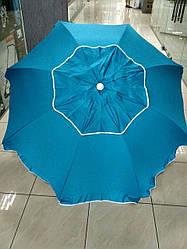 Зонт брезент, наклонный с клапаном 210 см