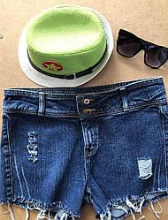 Шорты  джинсовые S-M-L