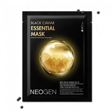 Маска с экстрактом черной икры NEOGEN Black Caviar Essential Mask, фото 2