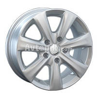 Литые диски Replay Skoda (SK93) R15 W6 PCD5x100 ET38 DIA57.1 (silver)