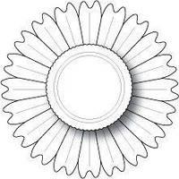 Ножи для вырубки Memory box - Blooming Rosette & Center Die, 98121
