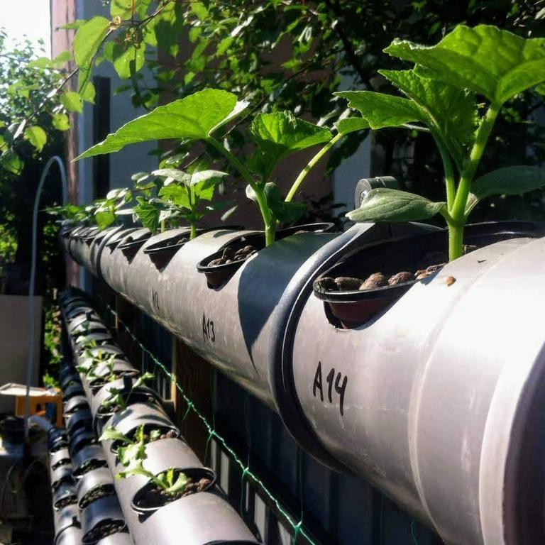 DFT-система из канализационных труб 2016
