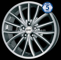 Литые диски Alutec Toxic R17 W8 PCD5x105 ET35 DIA56.6 (sterling silver)