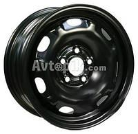 Стальные диски KFZ 7250 Skoda R14 W6 PCD5x100 ET37 DIA57.1 (черный)