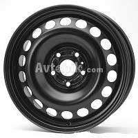 Стальные диски KFZ 9702 Volkswagen R16 W6 PCD5x112 ET50 DIA57.1 (черный)