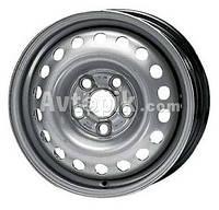 Стальные диски KFZ 9680 Volkswagen R16 W6.5 PCD5x100 ET42 DIA57.1 (black)