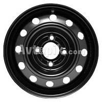 Стальные диски KFZ 7635 R15 W6 PCD4x100 ET50 DIA60.1 (silver)
