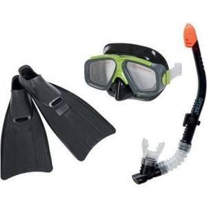 Набор для подводного плавания INTEX 55957 маска трубка ласты, фото 2