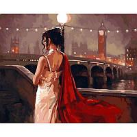 """Картина по номерам, картина-раскраска """"Винтажный Лондон"""" 40Х50см VP546"""