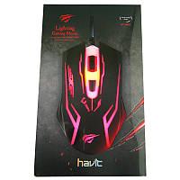 Игровая мышка Havit  HV-MS801, Gaming USB, black