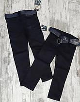 Детские коттоновые штаны для мальчика Школа. Турция. 13 лет.