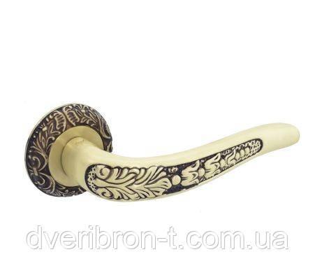 Дверні ручки Safita R08 H199 SIL срібло, фото 2