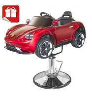 Детское парикмахерское кресло-автомобиль Hairmaster 8911055 Red