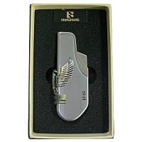 Зажигалка     FANGFANG XT-4027орел(Распродажа) картон