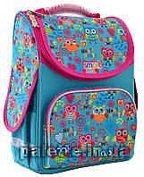 """Рюкзак школьный каркасный Smart PG-11 """"Funny owls"""""""