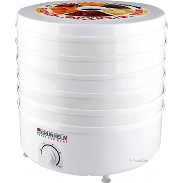 Сушилка для овощей и фруктов Grunhelm BY1162 на 5 поддонов