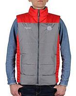 Оригинальный мужской жилет Volkswagen Tiguan Vest, Men's, Grey/Red  (MFAP404SMVO)