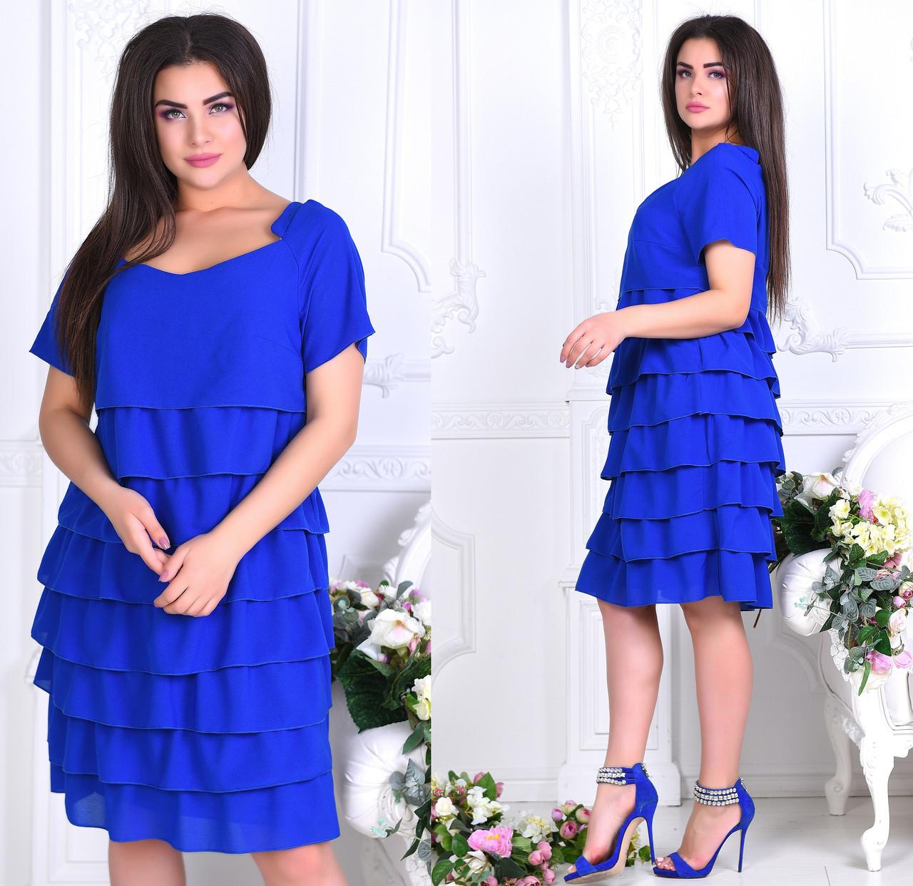 Платье женское 7116ив батал