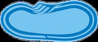 Бассейн стекловолоконный 6,4*3,2*1,2-1,6