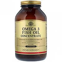 Концентрат Рыбьего Жира Омега-3 2000 мг, Solgar, 120 желатиновых капсул