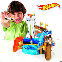 Hot Wheels Color Shifters Trackset трек хот вилс Атака акулы