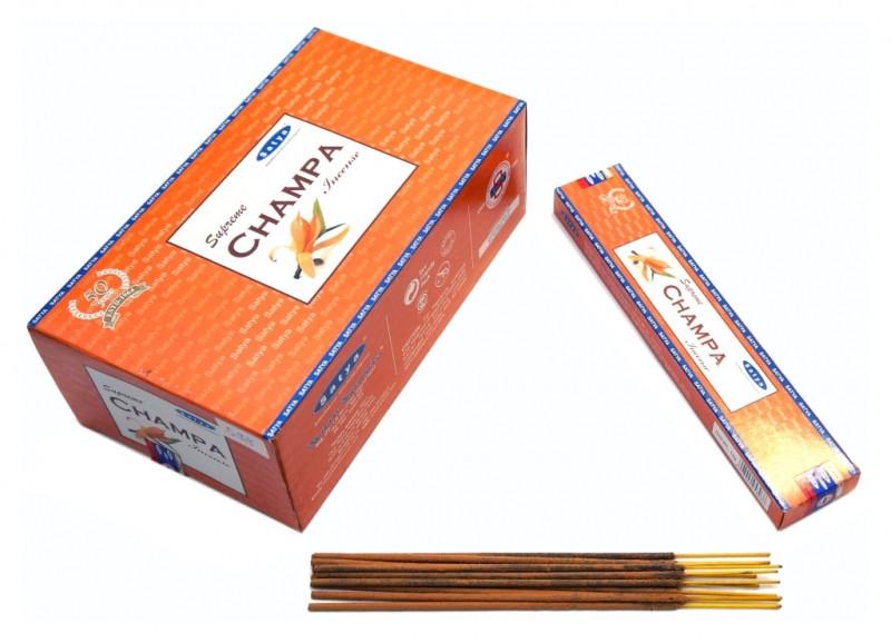 Ароматические палочки Satya Supreme Champa (Верховный Чампа)