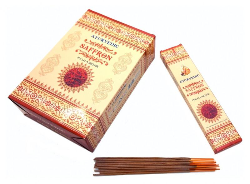 Аромапалочки пыльцевые Ayurvedic Saffron