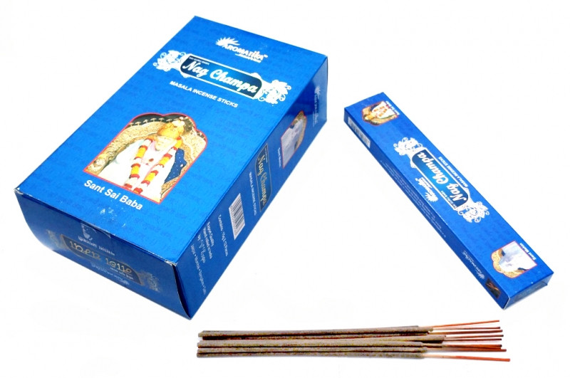 Ароматические палочки пыльцевые Aromatika Nag Champa (Наг Чампа)