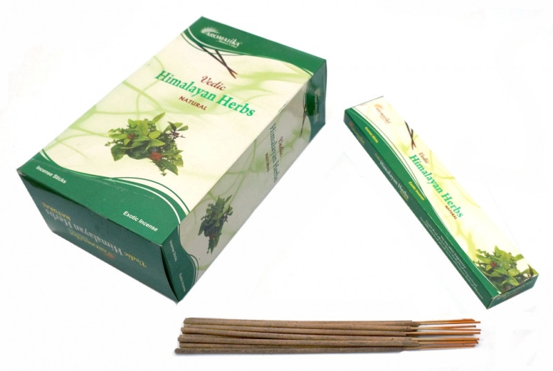 Ароматические палочки пыльцевые Aromatika Himalayan Herbs (Гималайские травы)