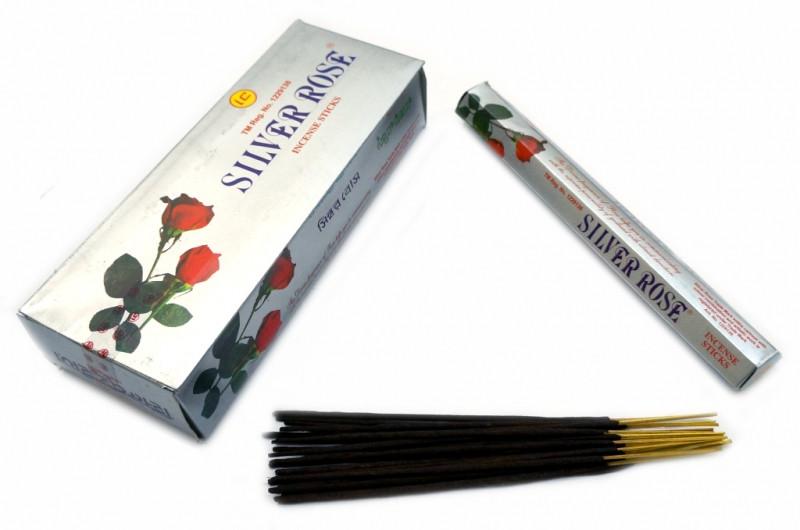 Ароматические палочки SILVER ROSE (шестигранник) Серебряная роза