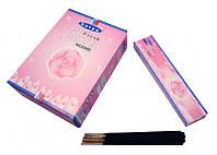 Благовония пыльцевые Роза Satya Fresh Rose (плоская пачка) 20 грамм