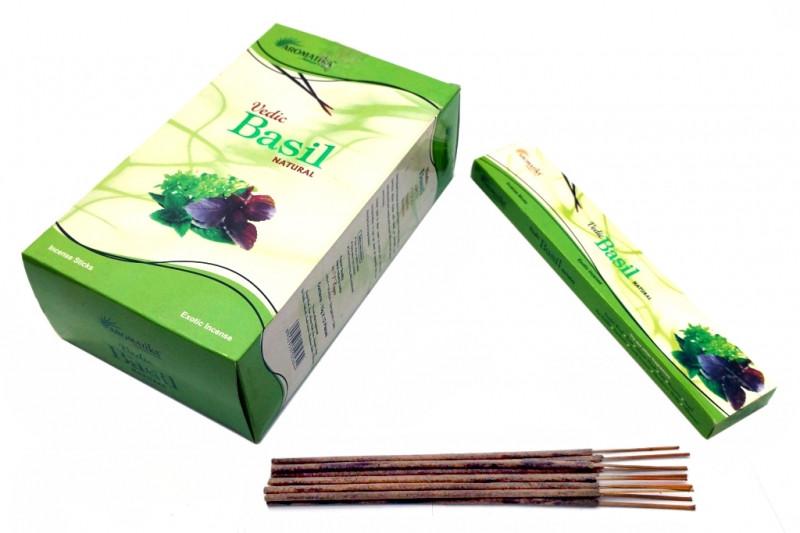 Ароматические палочки Aromatika Vedic Basil (Базилик)