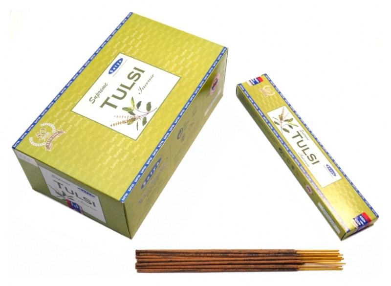 Ароматические палочки Satya Supreme Tulsi (Туласи)