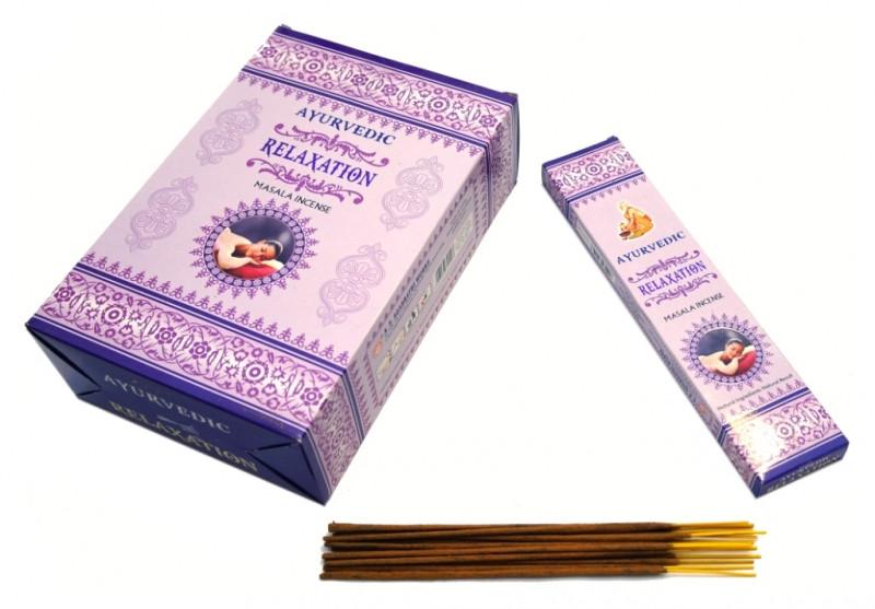 Ароматические палочки пыльцевые натуральные Ayurvedic Ralaxation