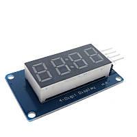 TM1637 дисплей Arduino под часы семисегментный LED индикатор