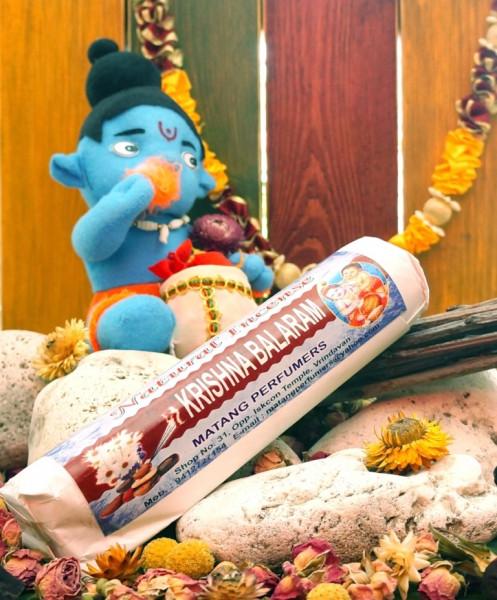 Ароматические палочки весовые Krishna Balaram (Кришна Баларам) 250 грамм упаковка MP