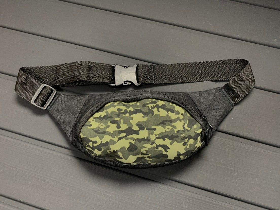 Мужская/женская сумка бананка Camouflage