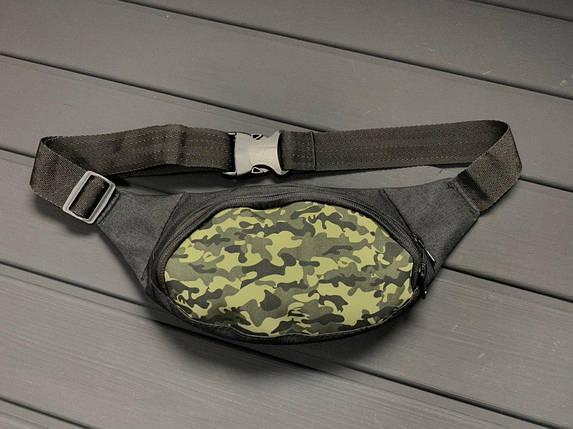 Мужская/женская сумка бананка Camouflage, фото 2
