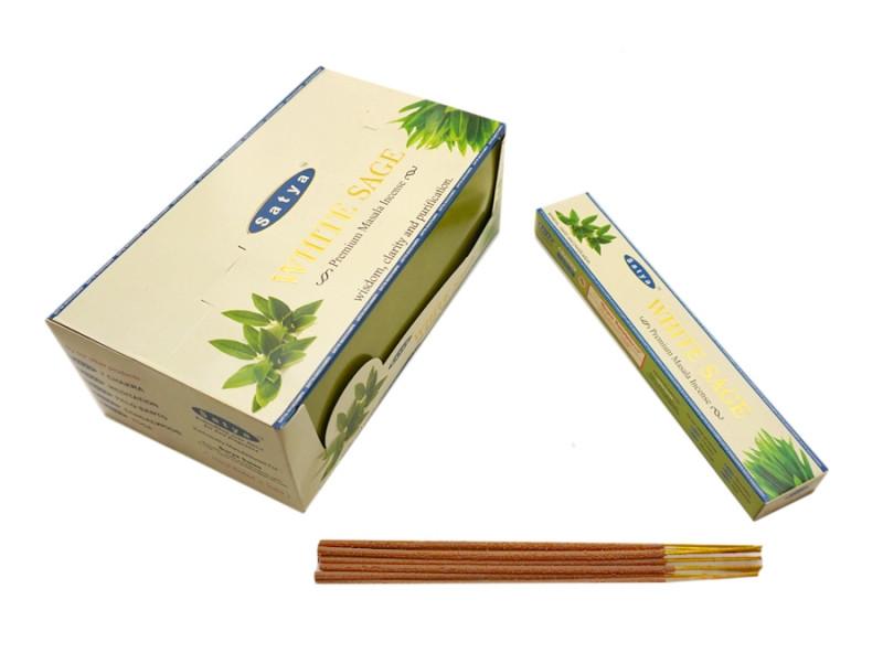 Ароматические палочки Satya Premium White Sage (Белый Шалфей)
