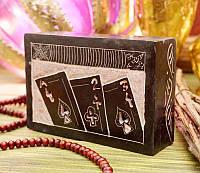 9170278 Шкатулка каменная крашенная арт.Aut2014 J