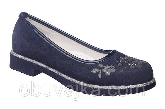 Школьная обувь Подростковые туфли для девочек от производителя Tom m(33-38), фото 2