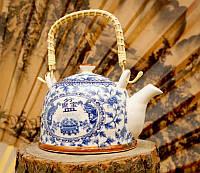 9200067 Чайник - заварник 'Тибет' фаянс №12