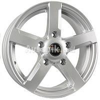 Литые диски Tech-Line TL508 R15 W6.5 PCD5x139.7 ET40 DIA98 (silver)