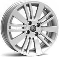 Литые диски WSP Italy Fiat (W142) Ustica R15 W6 PCD4x100 ET38 DIA56.6 (silver)