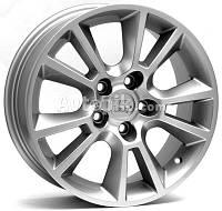Литые диски WSP Italy Opel (W2502) Strike R16 W6.5 PCD5x110 ET37 DIA65.1 (silver)