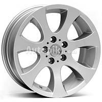 Литые диски WSP Italy BMW (W651) Ginevra R16 W7 PCD5x120 ET34 DIA72.6 (silver)