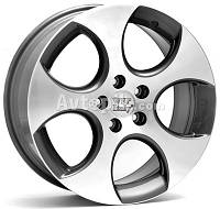 Литые диски WSP Italy Volkswagen (W444) Ciprus R18 W7.5 PCD5x112 ET47 DIA57.1 (silver polished)